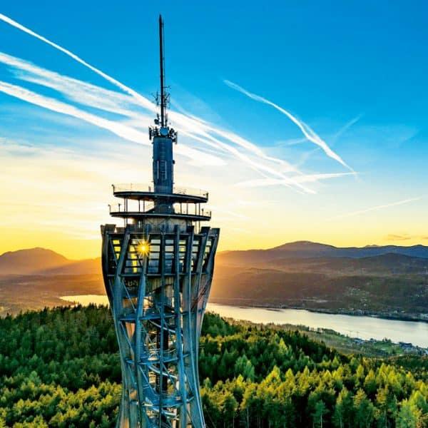 Aufbuchung_Sommer Kärnten Card Pyramidenkogel Turm