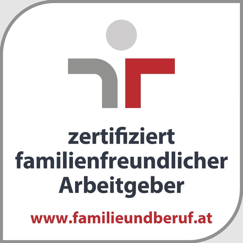Logo zertifiziert familienfreundlicher Arbeitgeber