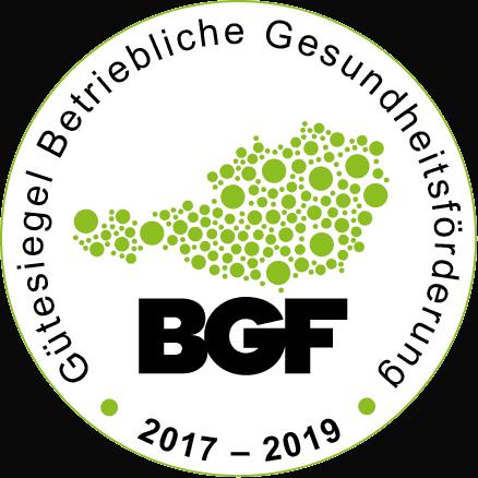 BGF Gütesiegel - Gütesiegel Betriebliche Gesundheitsförderung