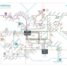 Abendliniennetz Klagenfurt 2020