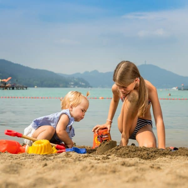 Kinder Strandbad Klagenfurt