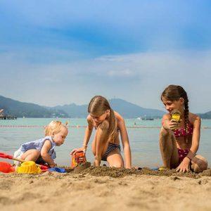 Strandbad Klagenfurt_Kinder