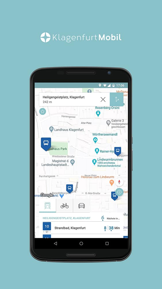 Nähere Ansicht Klagenfurt Mobil App